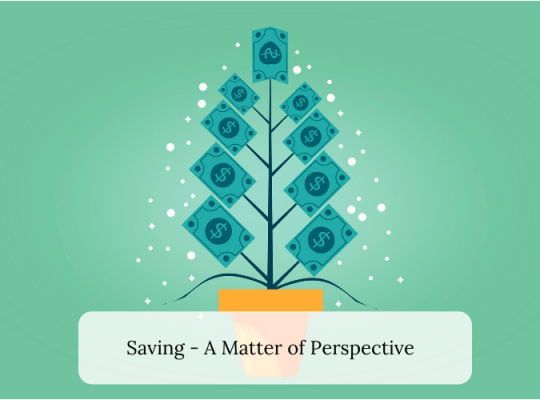 Saving - A Matter of Perspective