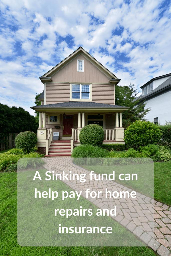 A sinking fund