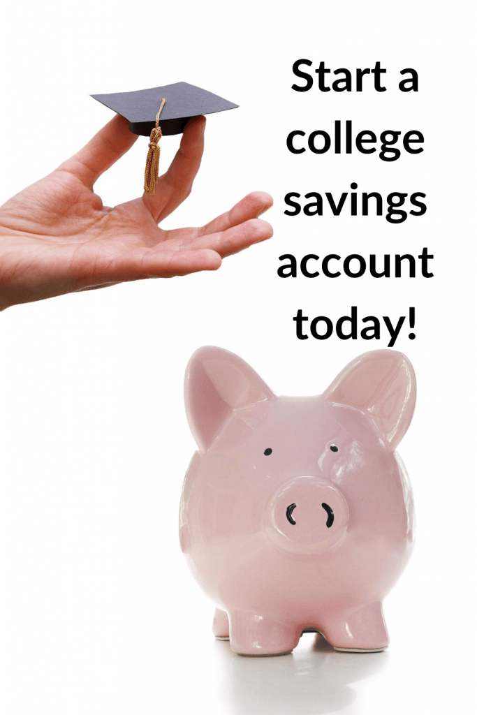 Start saving for college