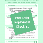 Debt Repayment Checklist