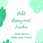 Simple Debt Repayment Tracker